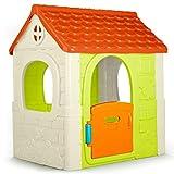 FEBER- Fantasy House Casetta da Gioco, Tradizionale, Grande, 85x108x124 cm