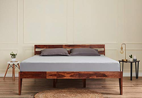 Wakefit Sheesham Wood Bed (King Size Bed), Double Bed