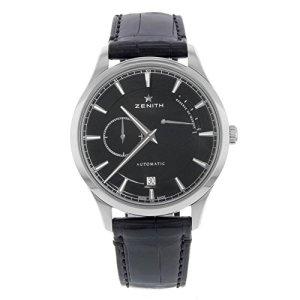 Zenith-Captain-Power-Reserve-Black-DIAL-Automatic-Mens-Watch-03212268521C493