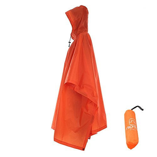 Winis Multifunctional Outdoor Rain Poncho Backpack Rain Cover