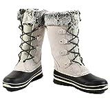 Khombu Emily Women's Winter Snow Boots (11) Grey