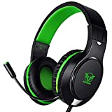 Karvipark H-10 Gaming Headset for Xbox One/PS4/PS5/PC/Nintendo Switch|Noise Cancelling,Bass Surround...