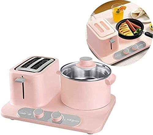 Macchina del pane, pane Tostapane e 2 set Pot, Multifunzione B attrezzo, Compact 2 fetta Toasters...