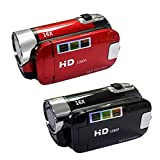 Full HD 1080P Video Camera Professional Digital Camcorder 2.7 Inches 16MP High Definition ABS FHD DV Cameras 270 Degree Rotation