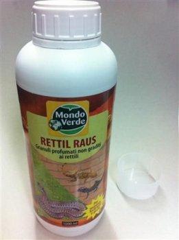 Déshydrateur en granulés pour éloigner Les Reptiles, Rettil Stop 100 ML Mondonature SRL
