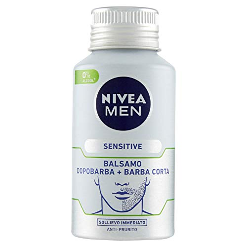 Nivea Men Balsamo Dopobarba + Barba Corta Sensitive, 125ml