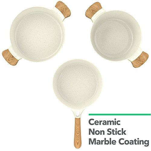 Product Image 3: Vremi 8 Piece Ceramic Nonstick <a href=
