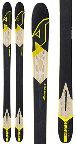 Nordica NRGY 90 Skis Black Mens Sz 177cm