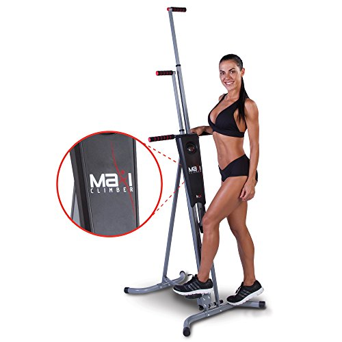 Maxi Climber The Original Patented Vertical Climber, As Seen On TV - Full Body Workout with Bonus Fitness App for...