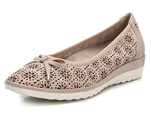 XTI Zapato Bailarina XTI044043 para Mujer Marrón 37