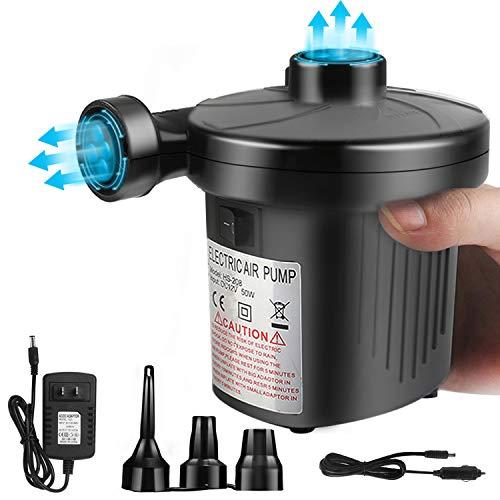 OKPOW Air Pump for Inflatables 110V AC/12V DC Electric...