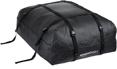 AmazonBasics - Borsa portatutto per tetto dellauto, Nero, 425 L