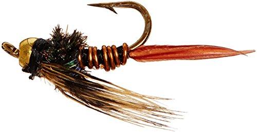 Flies Direct BH Copper John Assortment 1 Dozen Trout Fishing Flies