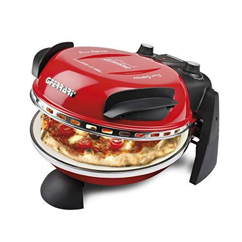 G3 Ferrari Delizia Forno Pizza, 1200 W, 1 Liter, 0 Decibel, Acciaio Inossidabile, Rosso