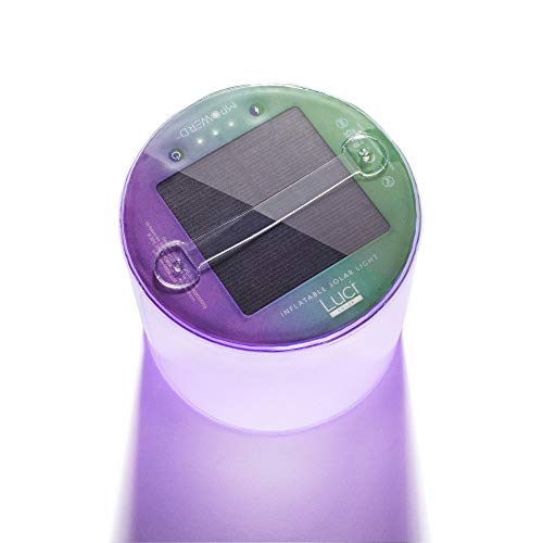 MPOWERD Luci Color: Solar Inflatable Lantern