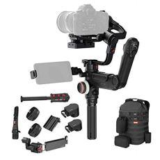 Zhiyun Crane 3 Lab Master - Sistema estabilizador con transmisión de vídeo en Directo para cámaras réflex Digitales Grandes de hasta 4,5 kg