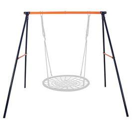 ZENY Kids Outdoor A Frame Swing Set Heavy Duty Swing Frame Stand for Swings Hammocks