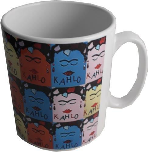 Dreamair KAHCER1 Frida Kahlo - Taza de cerámica