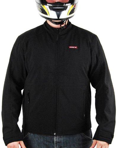 Vega Technical Gear Men's MSS Soft Shell Jacket (Black, Large)