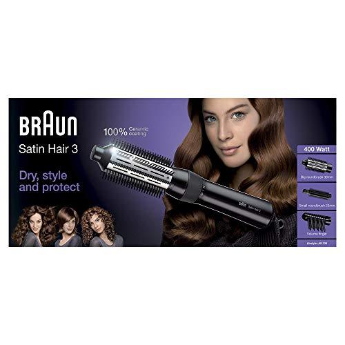 Braun Satin Hair 3 AS330 Modellatore Ad Aria Per Capelli Accessoriato Con Volumizzatore E Spazzola...