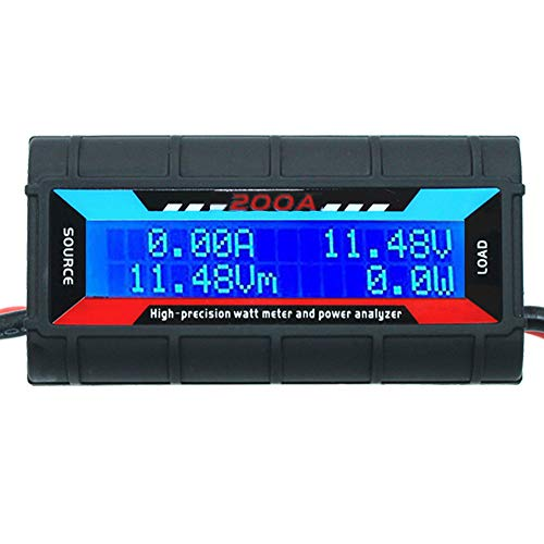 Watt Meter Analyzer High Precision with Backlight Digital LCD Screen