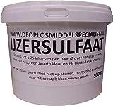 DE OPLOSMIDDELSPECIAL = 5000 g sulfate de Fer (Engrais Fer)