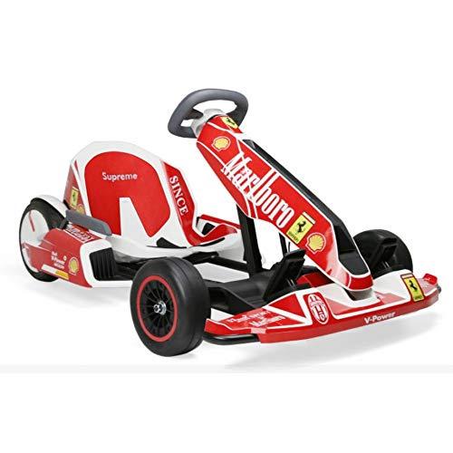 HQB Kart Vehículo Ninebot Pro Kit de Conversión Red Rojo Coche Niño Adulto,D,Un tamaño
