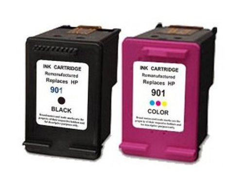 2 Compatibile HP 901XL Cartucce d'inchiostro per HP Officejet 4500 J4500 J4524 J4535 J4540 J4550 J4580 J4585 J4600 J4624...