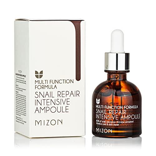 Mizon Ampolla Reparación Intensiva con Extracto de Caracol (30ml) Suero facial con 80% de extracto de baba de caracol {Snail Repair Intensive Ampoule}