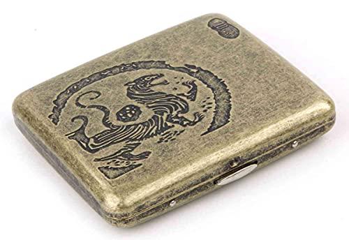 虎紋 タバコケース 20本収納 煙草 たばこ タバコ シガレット ケース 煙草入れ