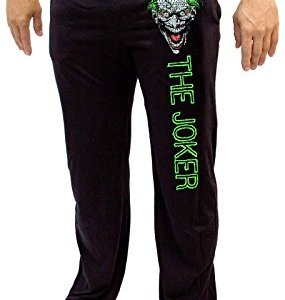 DC Comics The Joker Batman Knit Graphic Sleep Lounge Pants