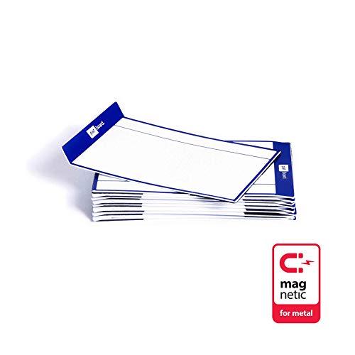 PATboard Lavagne di Scrum e Lavagne di Kanban TASKcards - Magnetico - Set di 16 carte Blu marine