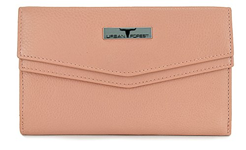 Urban Forest Rose Womens Leather Wallet TESS