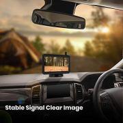 AUTO-VOX Solar Kabellos Rückfahrkamera Set