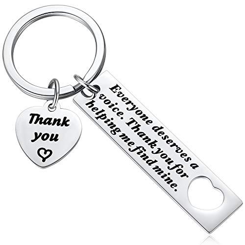 Hazado SLP Keychain Gift, Speech Therapy Keychain, Speech...