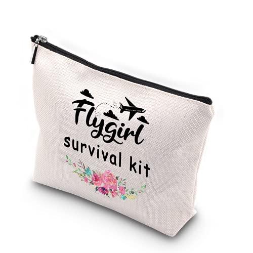 WCGXKO Flygirl Survival Kit Flight Attendant Gift Zipper...