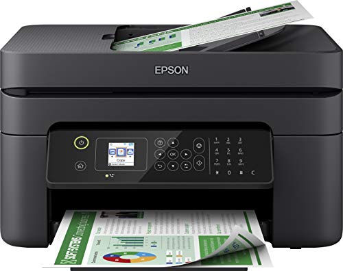Epson WorkForce WF-2830DWF Multifunzione a Getto d'Inchiostro 4-in-1, Stampa 5.760 x 1.440 dpi,...