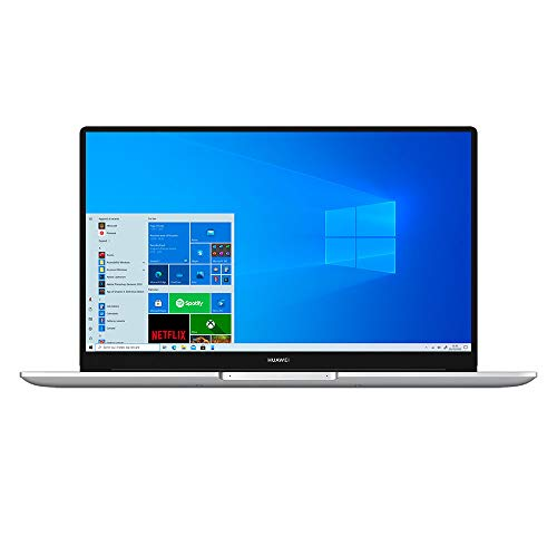 HUAWEI MateBook D15 Laptop, 15.6 pollici, Full View 1080P FHD Ultrabook PC, Intel Core i3-10110U, lettore d'impronta digitale, 8GB di RAM, SSD da 256GB , Windows 10 Home, Layout Italiano, Silver