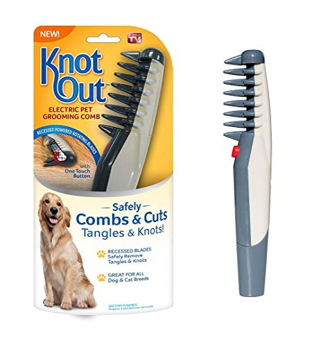 lovecabin Electric Pet Grooming Comb Remove Knot Out Electric Pet Dog...