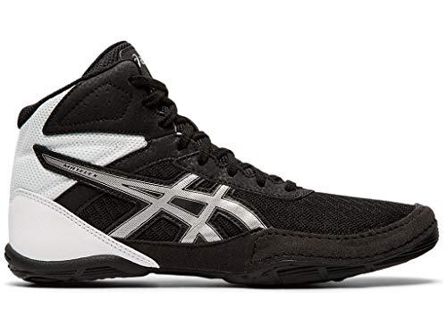 ASICS Kid's Matflex 6 GS Wrestling Shoes, 5M, Black/Silver