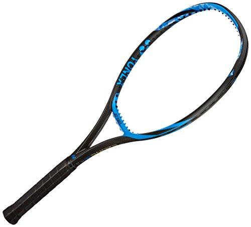 Yonex E Zone 100 Graphite Unstrung Tennis Racquet, 27-inch 300 g (Bright Blue)