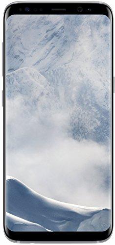 Samsung Galaxy S8 - 64GB - Arctic Silver - Verizon + GSM Factory Unlocked 4G LTE (Renewed)