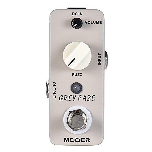 Bedler GREY FAZE Fuzz Guitar Effect Pedal True Bypass Full Metal Shell