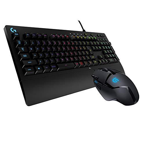 Logicool G ゲーミングキーボードマウスセット G213、有線マウスG402 国内正規品