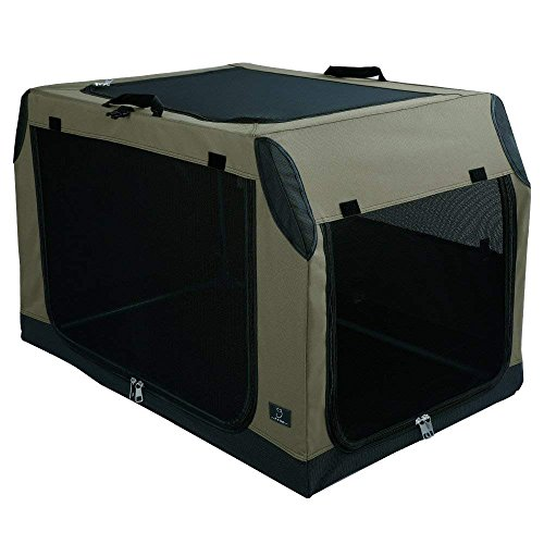 A4Pet Collapsible Dog Crate and Kennel Soft Sided...