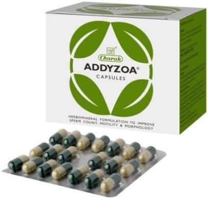 Amazon.com: Charak Addyzoa 40 Capsules : Health & Household