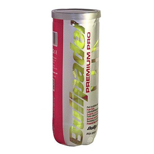 Bull Padel Premium PROPentola di 3Palline da Tennis Bullpadel