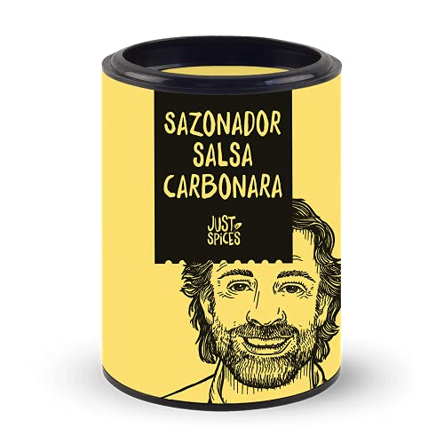 Just Spices Sazonador salsa carbonara, 40 g | Sazonador para pasta carbonara