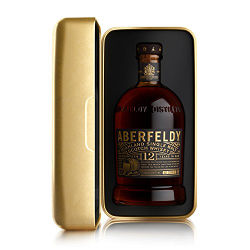 Aberfeldy Scotch Whisky Single Malt - Golden Box 12 anni - 700 ml