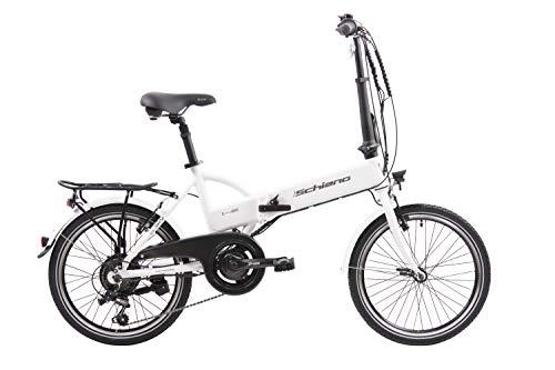 F.lli Schiano E- Sky Bicicleta eléctrica Plegable, Unisex Adulto,...